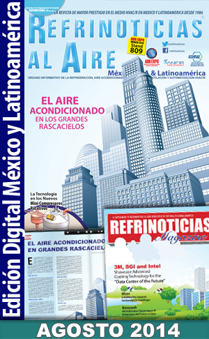REFRINOTICIAS AL AIRE México, USA & Latinoamérica AGOSTO 2014